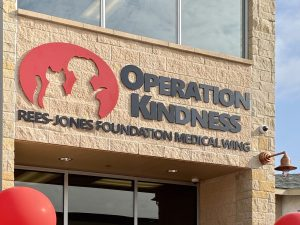 Operation Kindness Rees-Jones Foundation Medical Wing